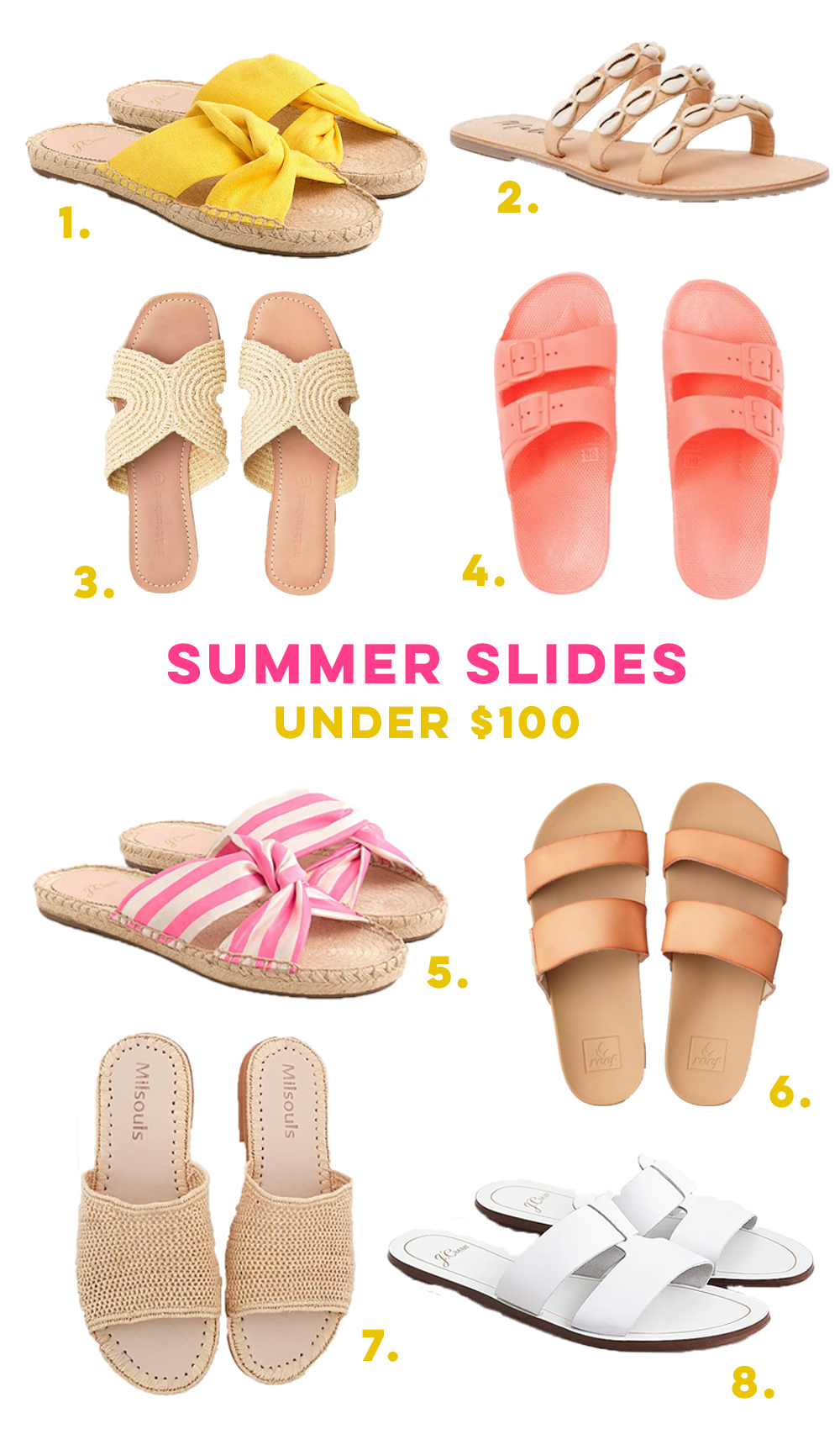 Summer Sandals Under $100 / How to Style Sandals for Summer / What to Wear with Dresses during Summer / Warm Weather Style Inspiration / How to Wear Sandals with Shorts - Sunshine Style, A Florida Based Fashion and Lifestyle blog by Katie McCarty