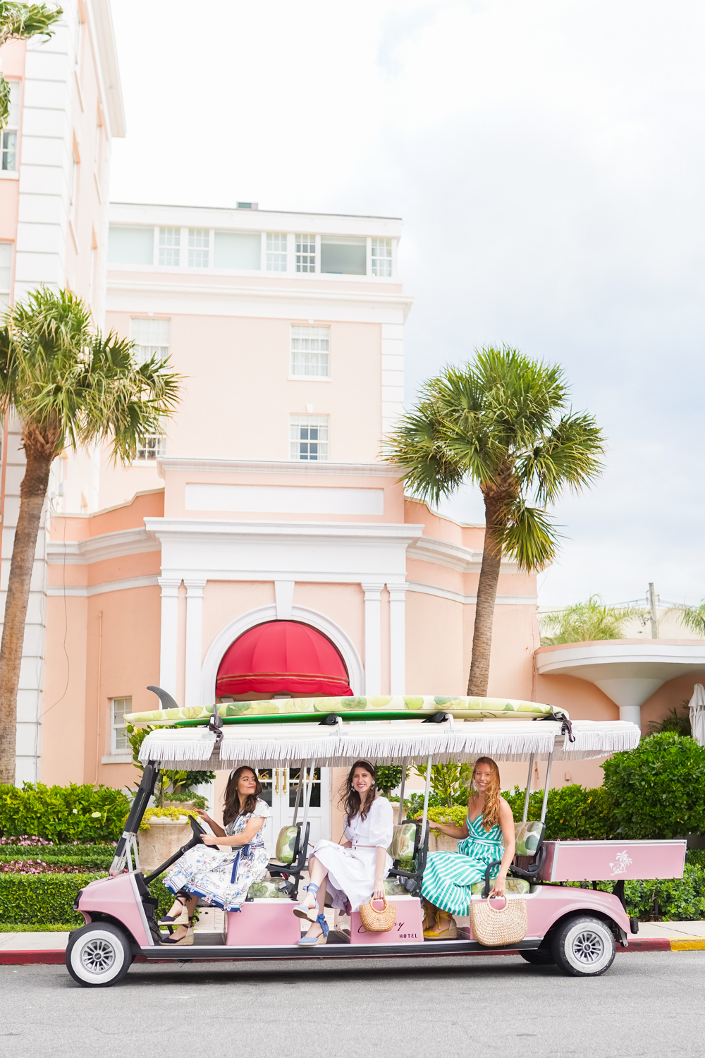 What to Do When Life Doesn't Work Out As Expected / The Colony Palm Beach / Palm Beach, Florida / Palm Trees / Pink Golf Cart / Fashion Bloggers - Sunshine Style, A Florida Fashion and Lifestyle Blog