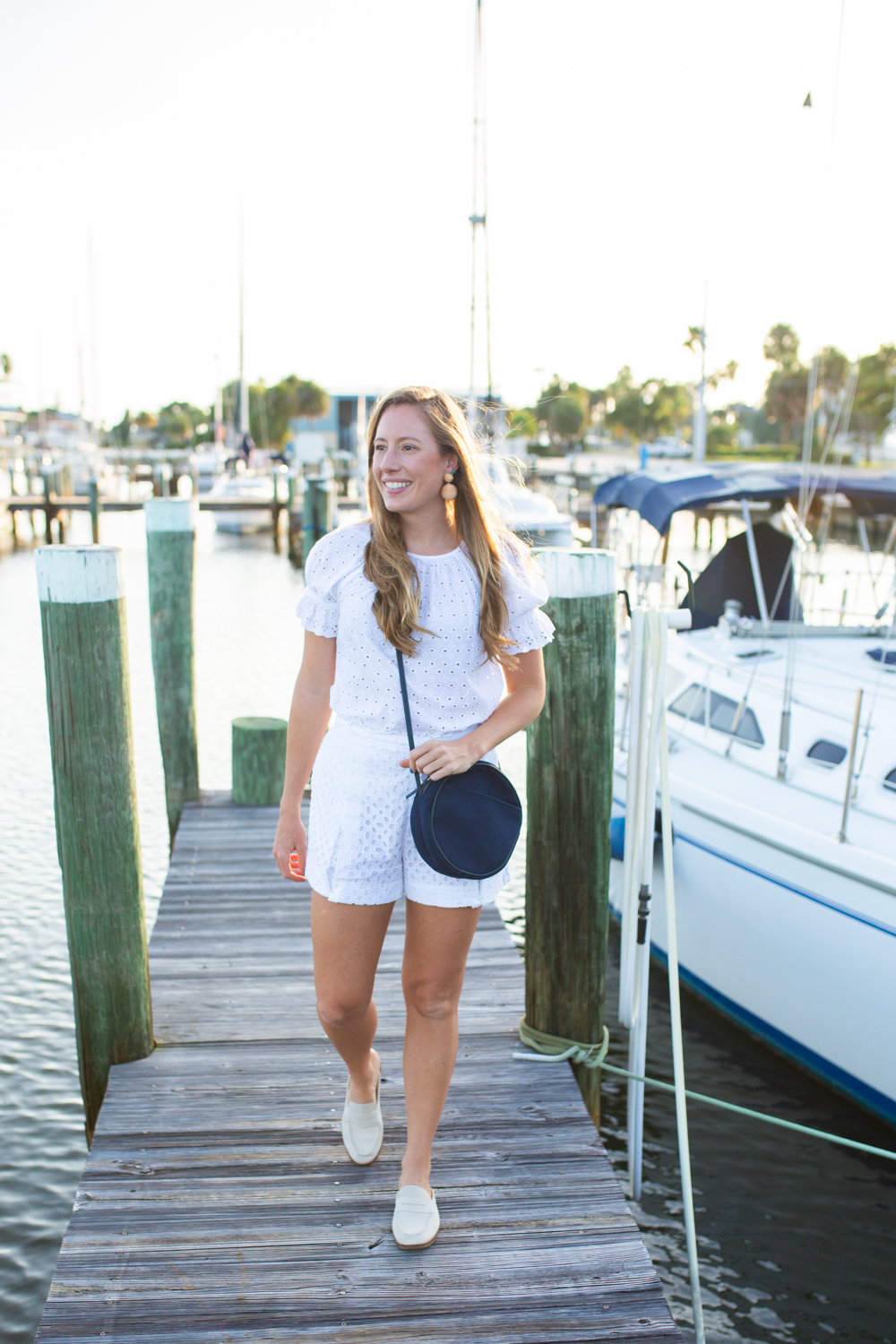 Classic White Shorts Guide / Preppy Style / Preppy Outfit / Classic Outfit / All American Style / White Shorts / Summer Shorts / Classic Shorts  / Summer Outfit Inspiration - Sunshine Style, A Florida Based Fashion and Lifestyle Blog