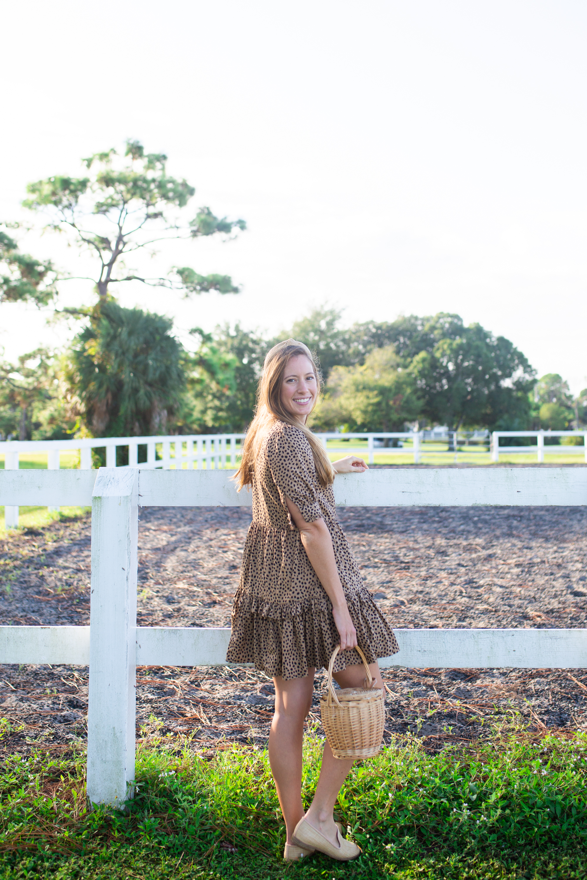 Leopard Print Dress / How to Style a Leopard Dress for Fall / Fall Outfit Idea / Casual Fall Outfit / Autumn Outfits / Leopard Print Dress Outfit Fall - Sunshine Style, A Florida Fashion and Lifestyle Blog by Katie
