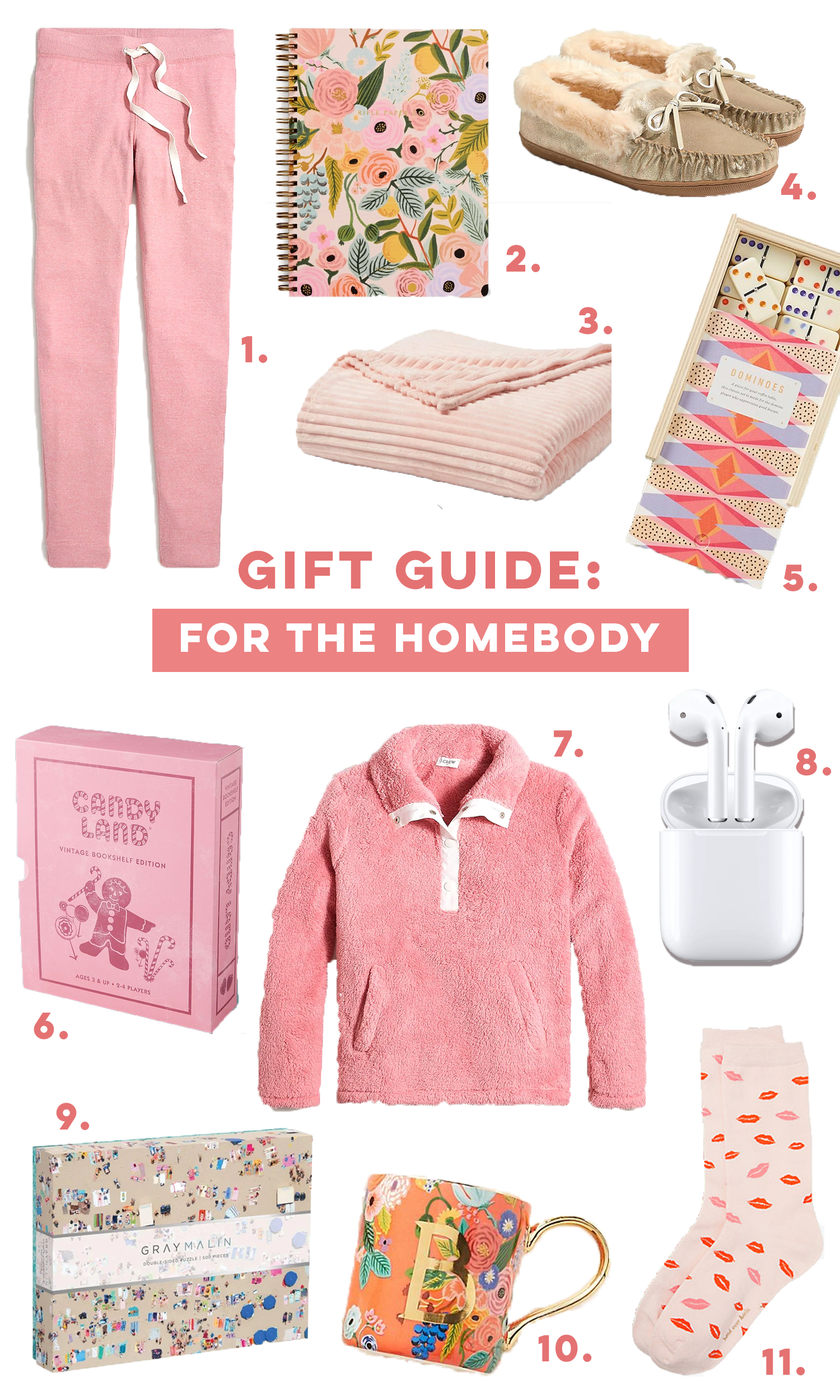 Gift Guide for the Homebody / Homebody Gifts / Holiday Gift Guide for Her / What to Wear at Home - Sunshine Style , A Florida Based Fashion and Lifestyle Blog