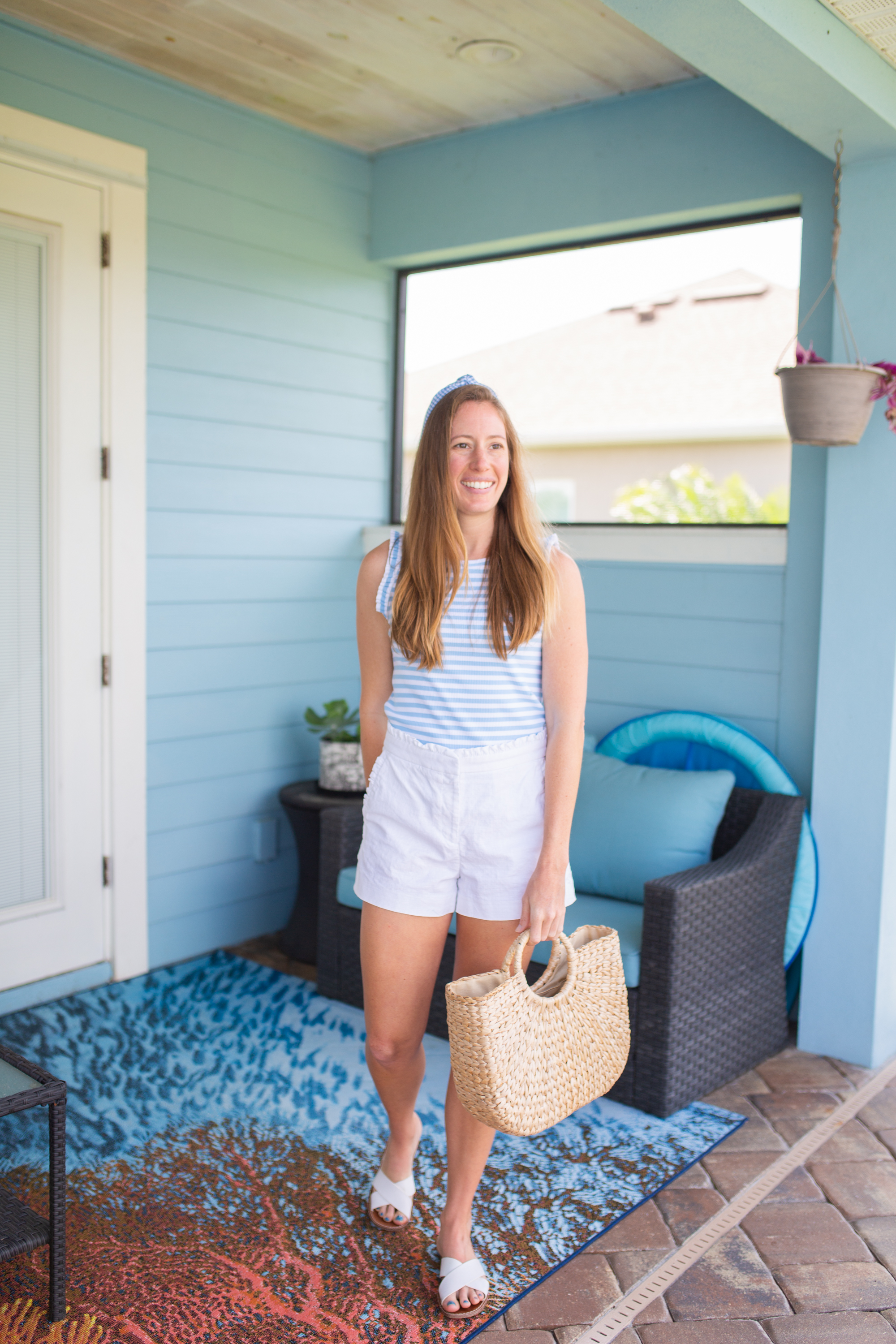 Cute Summer Outfits / Beach Outfit / Outfit Ideas for Summer / Summer Outfit Ideas / Cute Beach Outfits / Summer Style / cute casual summer outfits - Sunshine Style, A Florida Fashion and Lifestyle Blog by Katie