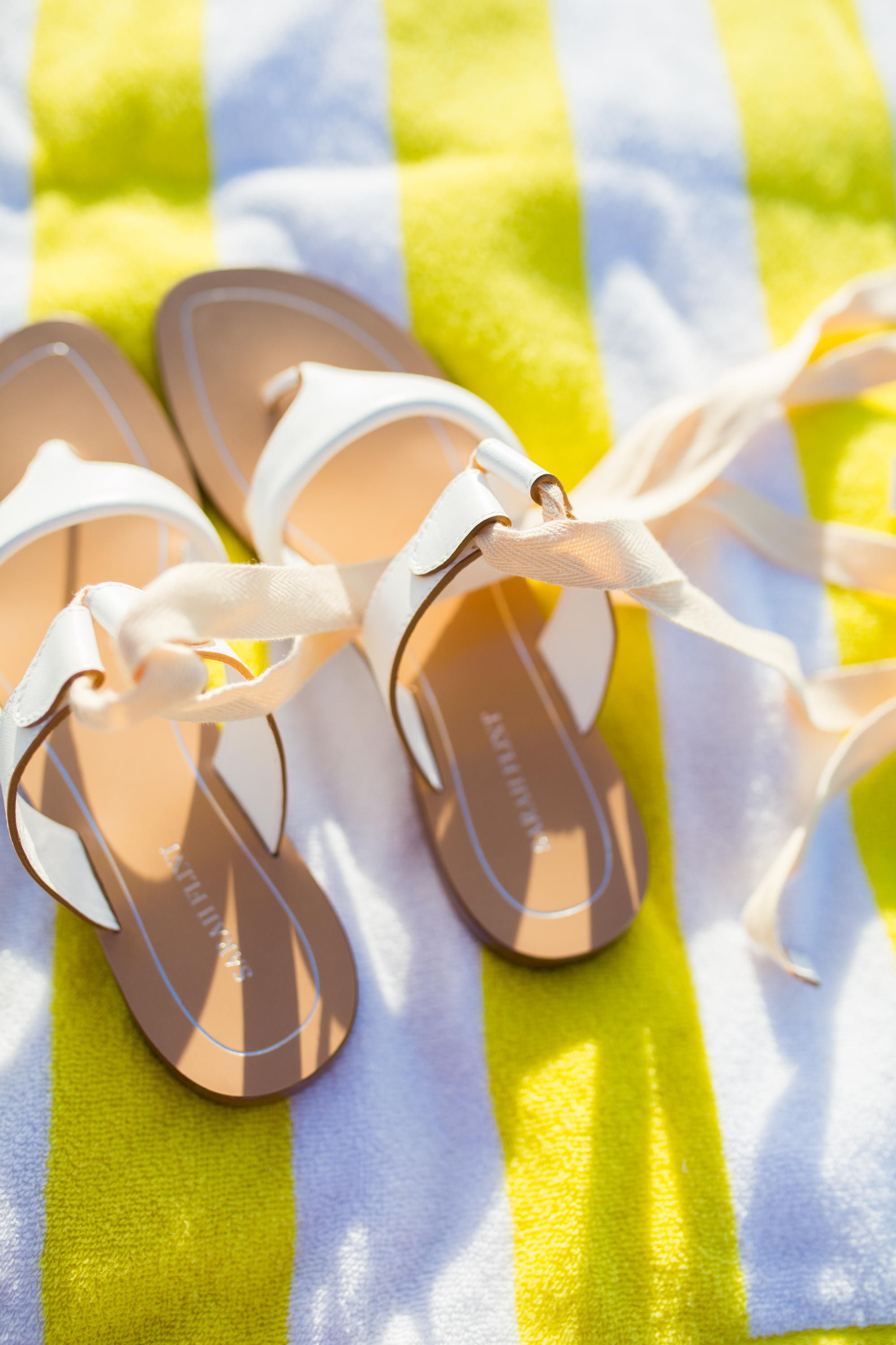 sandals on a beach towel for Sarah Flint Grear Sandals Review