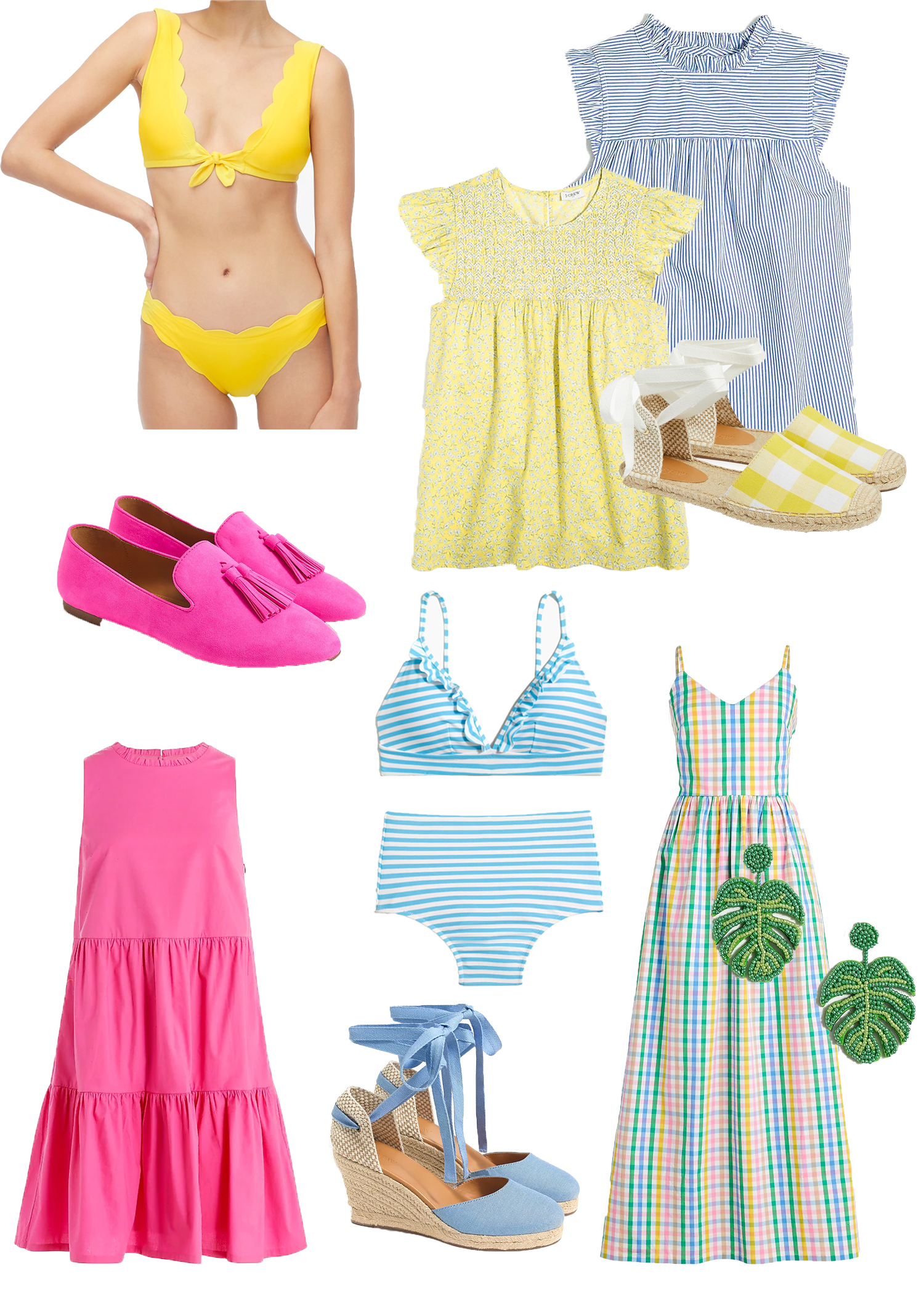 Summer wardrobe from Best J.Crew Factory Easter Sales