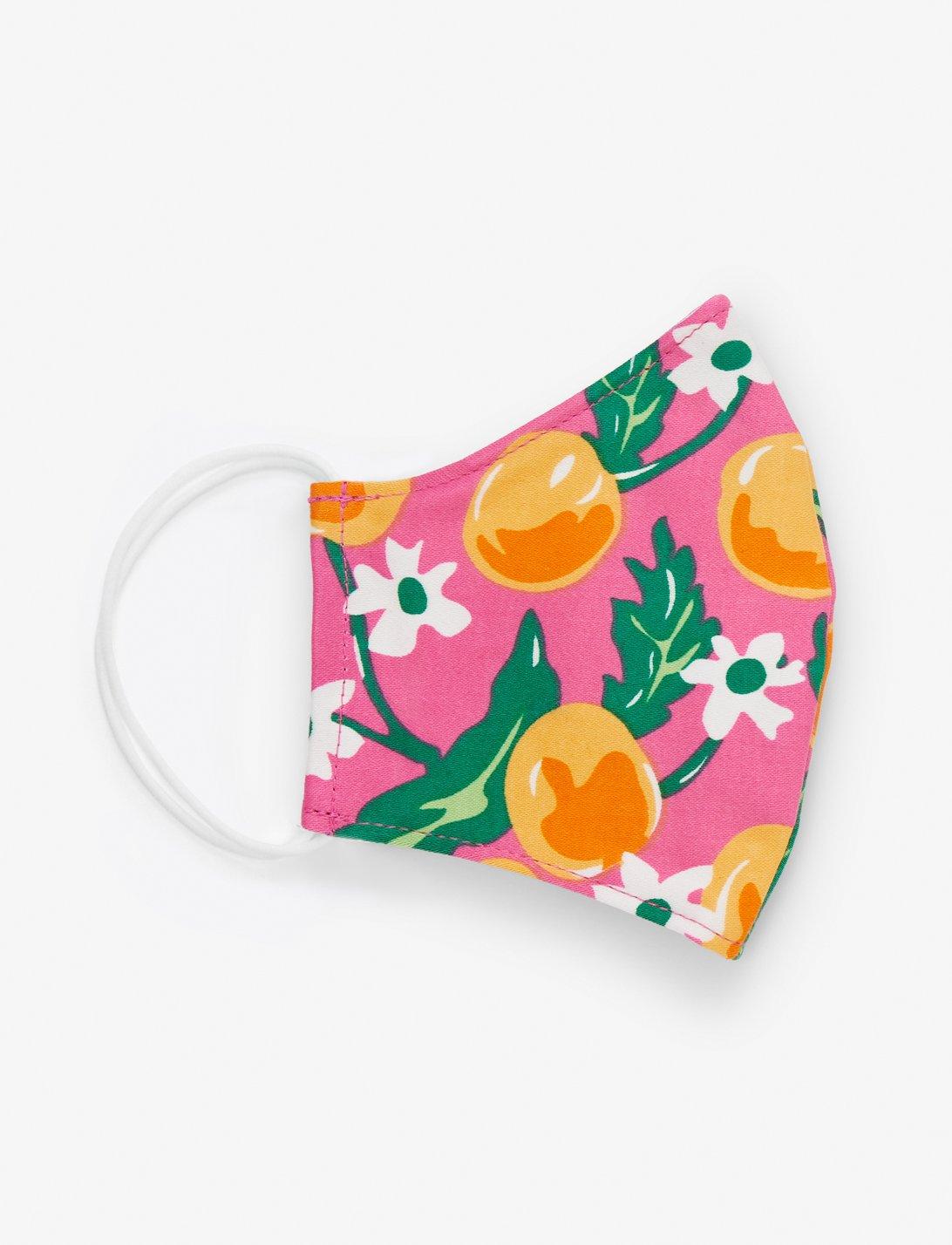 citrus print mask