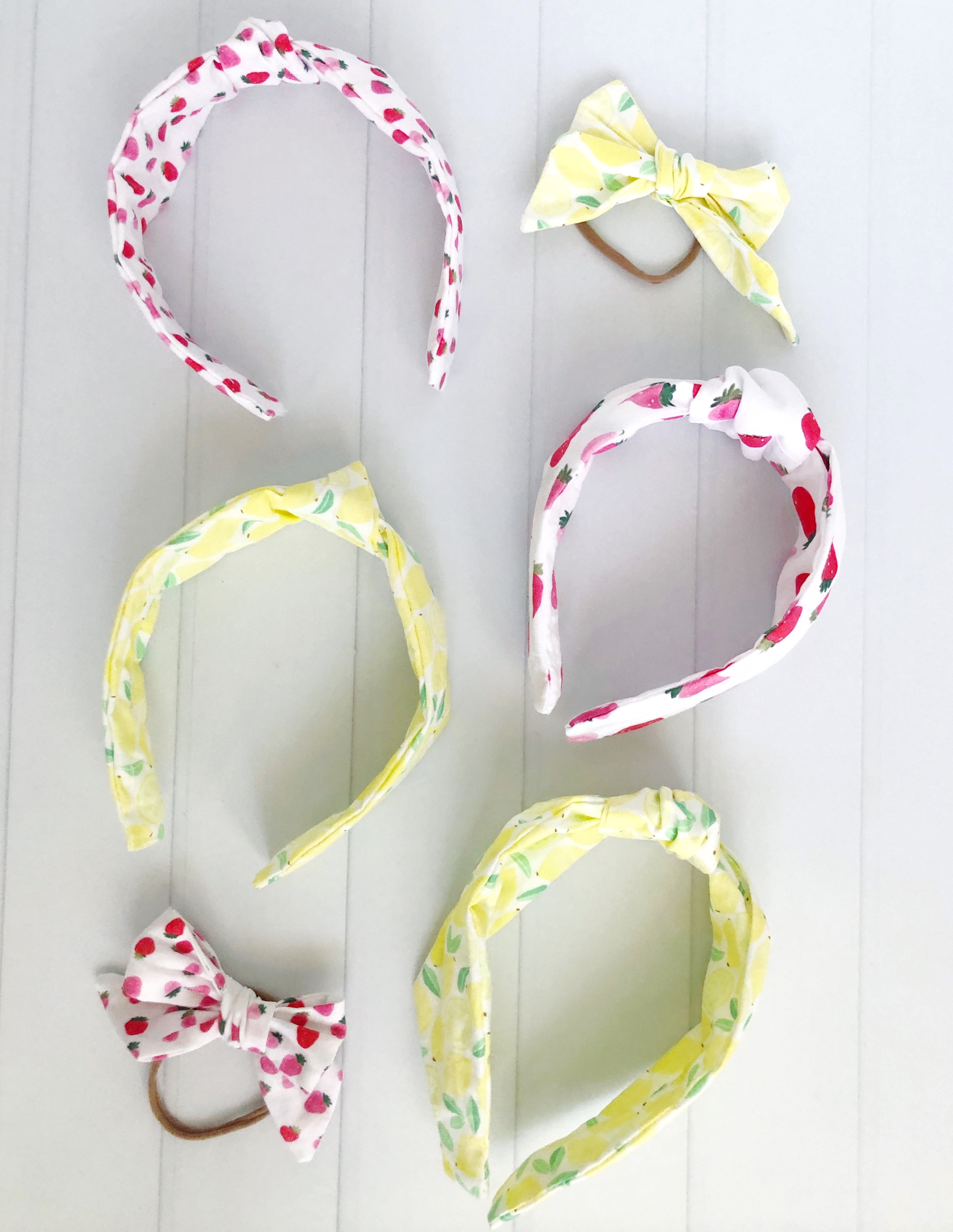 printed headbands for kids and mom